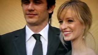 Red Carpet Fashion at Oscars 2009: James Franco & Ahna O'Reilly, Seth Rogen