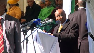 Lesotho's prime minister Thabane inaugurated two days after his wife's murder