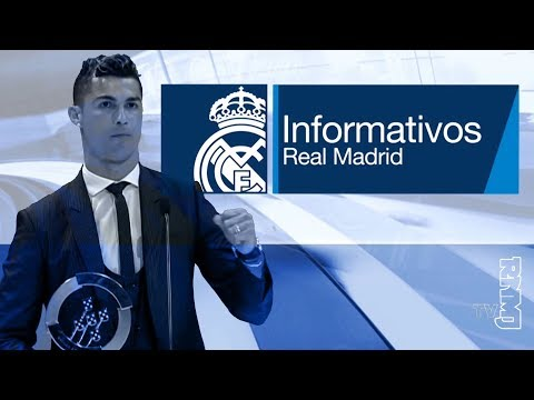 Real Madrid TV Noticias (20/03/2018) Informativo | Premio Quinas de oro a CRISTIANO