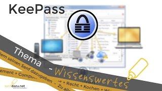 KeePass 2 - Passwörter im Griff mit der Kennwortverwaltung keepass 2 [Computer]