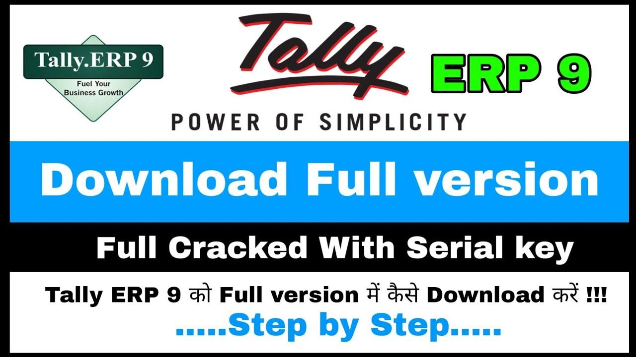 tally erp 9 crack version setup free download