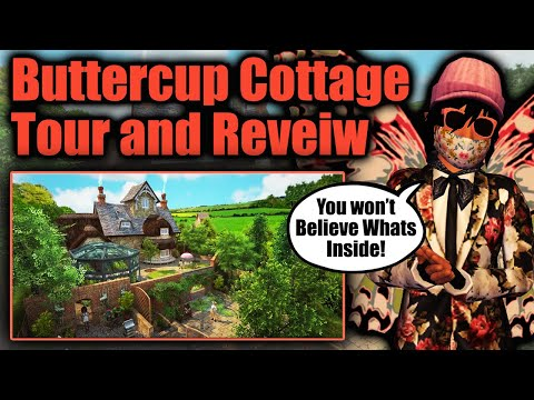 Amazing BUTTERCUP Cottage TOUR and REVIEW | Avakin Life NEW HOUSE 2021 | Cottage Update and Event