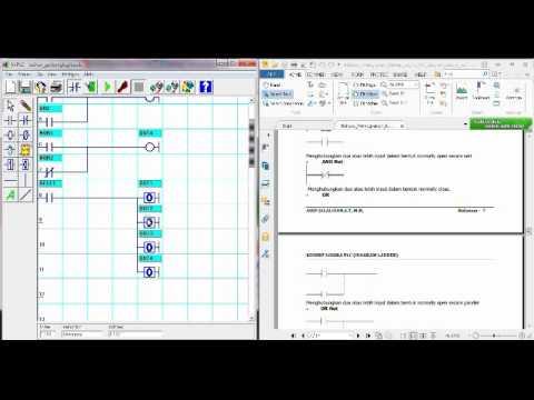 Contoh Simulasi Diagram Ladder untuk Gerbang Logika dengan ...