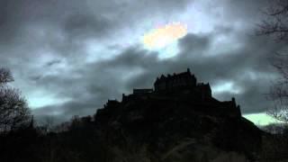 Solar Eclipse over Edinburgh Castle