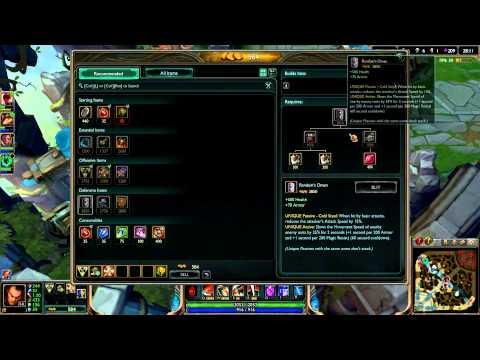 LOL Matchup Series: Darius Build Guide