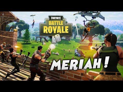 SUNGGUH MERIAH~! (Fortnite Malaysia) Battle Royale - w/ Ukiller & Special