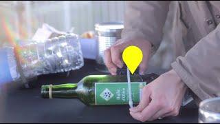 #SUIVEZMOI, itinéraire d'une bouteille en verre : du tri au recyclage
