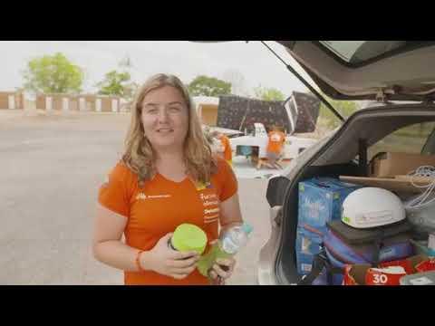 DAG 5 - Bridgestone World Solar Challenge Nuna9 finish! (Live Feed)
