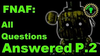 Game Theory: FNAF Mysteries SOLVED pt. 2