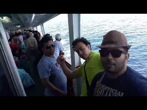 Beautiful journey from Port Blair to Havelock