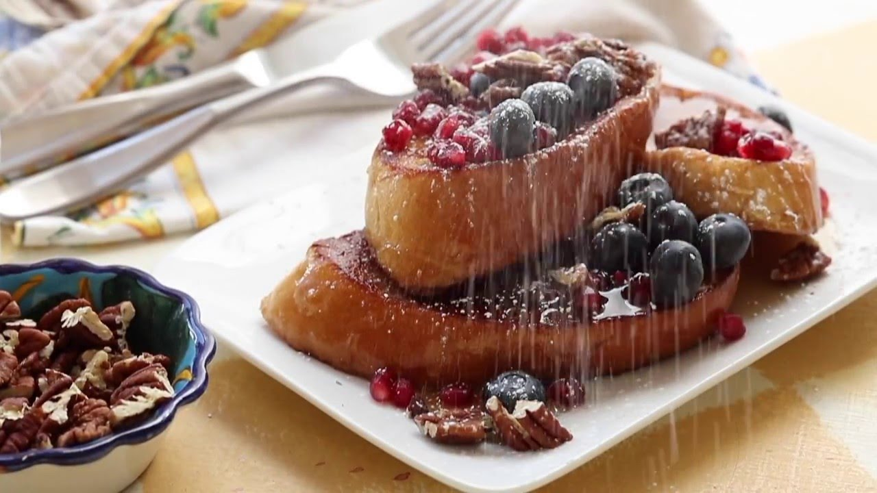 how to make gourmet french toast