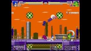[Sonic Mugen 17] Team Sonic Freedom Fighter Vs Team Knuckles Chaotix