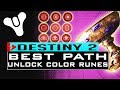 DESTINY 2 BEST CHALICE PATH HOW TO UNLOCK RED, GREEN and BLUE RUNES