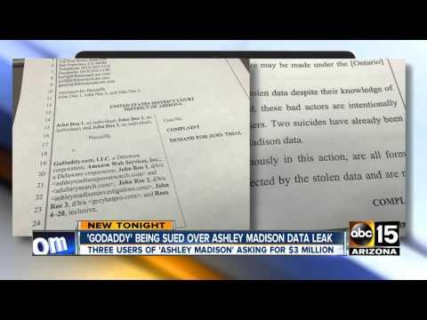 GoDaddy being sued over Ashley Madison data leak