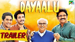 Dayaalu | Official Hindi Dubbed Movie Trailer | Nagarjuna Akkineni, Naga Chaitanya, Samantha