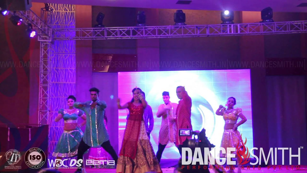 Dhating Nach Sequence By Dancesmith Bollywood Dance Troupe