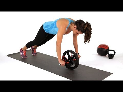 How to Do Standing Ab Wheel Rollouts | Abs Workout