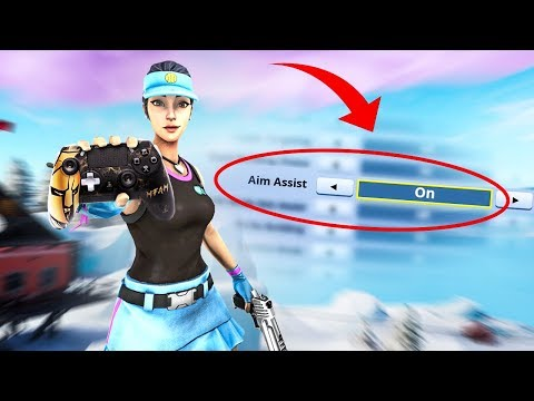 THE TRUTH ABOUT AIM ASSIST IN FORTNITE