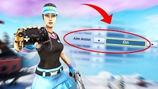THE TRUTH ABOUT AIM ASSIST IN FORTNITE..