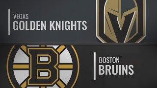 Бостон vs Вегас | Vegas Golden Knights at Boston Bruins | NHL HIGHLIGHTS | НХЛ ОБЗОР МАТЧА