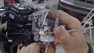 9.9hp Mercury Outboard Carburetor Cleaning/rebuild