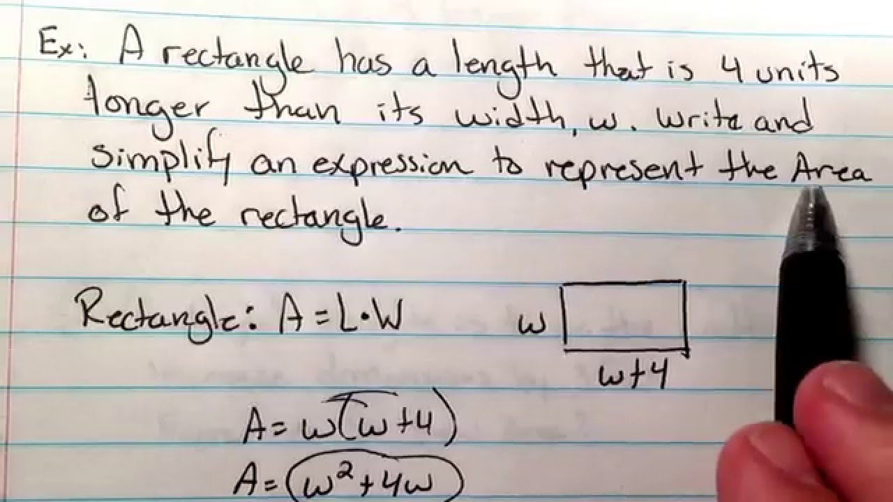 FOM1 Multiply Polynomials word problem 1 YouTube – Multiplying Polynomials by Monomials Worksheet