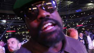 YOU HAVE TO FIGHT WILDER! - DERECK CHISORA IMMEDIATE REACTION TO JOSHUA BRUTAL KNOCKOUT OF POVETKIN