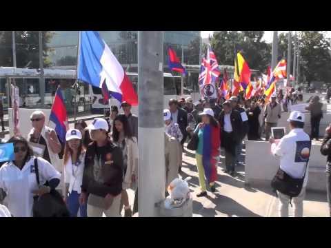 Manifestation à Genève 24 09 2013