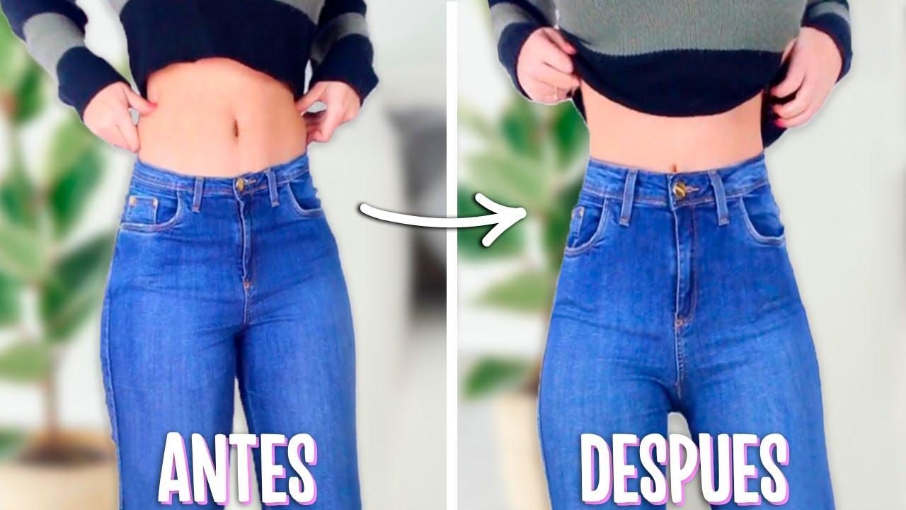 Transforma Tus Pantalones De Cintura Tiro Bajo A Tiro Alto Truco Para Tu Ropa Tutoriales Belen Youtube