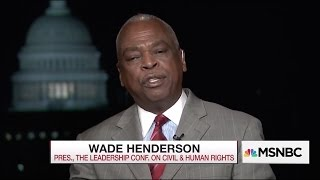Prof. Wade Henderson on MSNBC Discussing Jeff Sessions Nomination