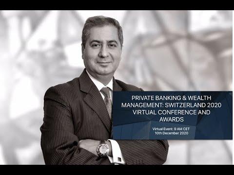 Anish Wig, Speaker Private Banking & Wealth Management Switzerland 2020 Conference