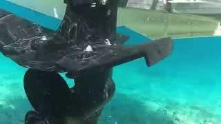 Quickboats underwater hull