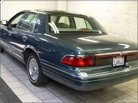 1995 Mercury Grand Marquis >> 1995 Mercury Grand Marquis San Francisco Ca Youtube