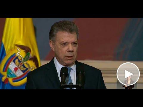 Presidente Santos en la instalación de la Legislatura del Congreso 2017-2018 - 20/Jul/2017