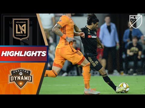 LAFC vs. Houston Dynamo   Vela Hits the Crossbar!   HIGHLIGHTS