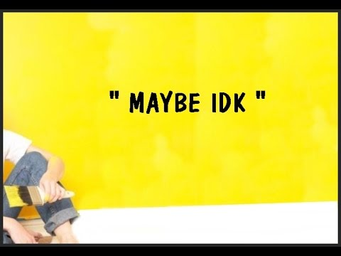 JON BELLION -MAYBE IDK ( Haley Klinkhammer cover with lyrics )