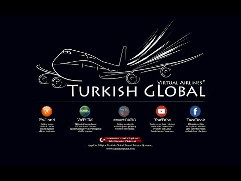 LTBJ -  LTBA - TURKISH GLOBAL - B737-300 VATSIM FULL ATC PRO