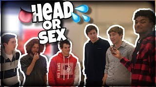 WHICH DO YOU PREFER HEAD OR SEX ? | PUBLIC INTERVIEW