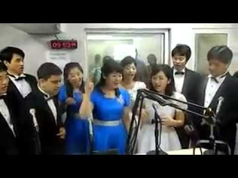 A South Korean Choir singing Ghanaian Gospel