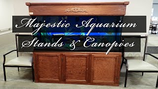 Lifetime Aquariums Majestic Aquarium Canopies and Stands