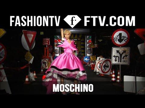 Moschino Spring/Summer 2016 Collection at Milan Fashion Week | MFW | FTV.com