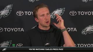 Eagles Press Pass: QB Nick Foles (4/24/18)