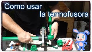 Como usar la termofusora y para que sirve el teflon.