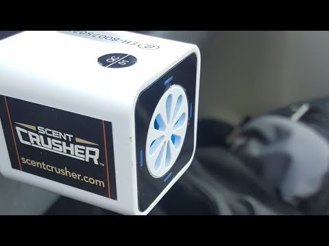 Scent Crusher Ozone Go Test And Review