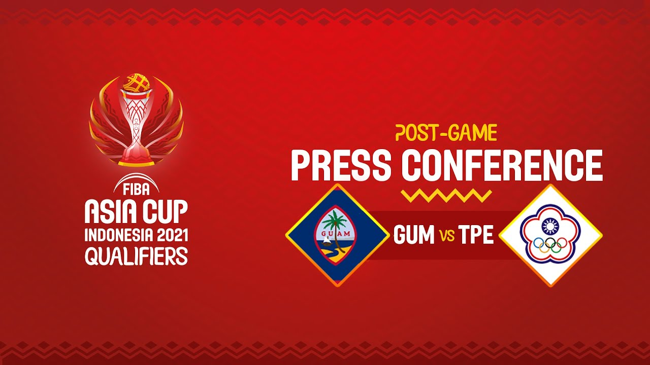 Guam v Chinese Taipei - Press Conference