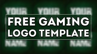 Free Gaming Logo Template #5 | D.U. Arts
