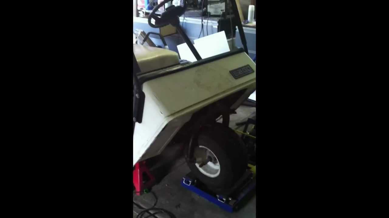 ez go 3 wheel colf cart customized vido 1 - YouTube  Ezgo Golf Cart Wheeler on rv golf cart, disney golf cart, towing a golf cart, 1994 western golf cart, 1994 hyundai golf cart, ez go medalist golf cart, 4x4 golf cart, 1997 yamaha golf cart, stanced golf cart, wrecked golf cart, suzuki golf cart, stretch golf cart, ez go workhorse 1200 golf cart, 1994 gas golf cart, 1994 club golf cart, battery for a 1994 ez go golf cart, yamaha g2 gas golf cart, yamaha drive golf cart, honda golf cart, white golf cart,