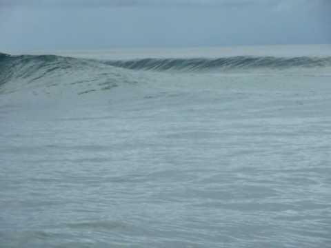 Kummas surf break at Papatura in the Solomon islands