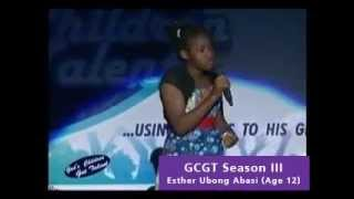 Amazing 12 year old Sings: Lara George - Ijoba Orun (GCGT)