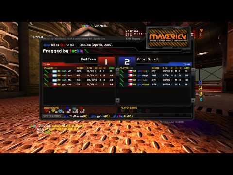 Quake Live: V1R7U4L vs gHs - Spider Crossings